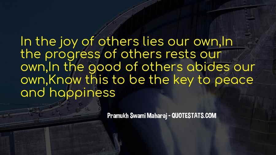 Pramukh Swami Maharaj Quotes #416207