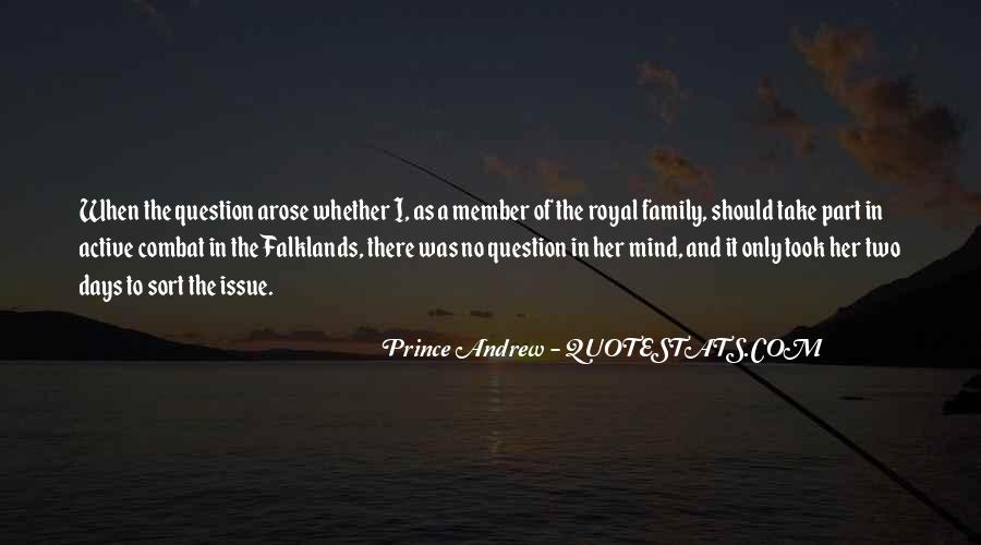 Prince Andrew Quotes #94573