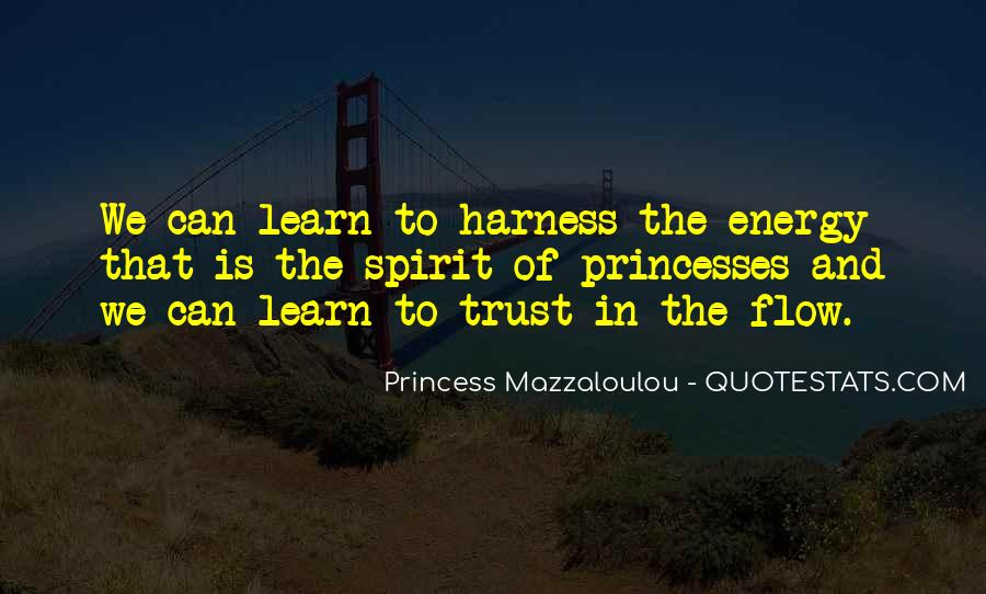 Princess Mazzaloulou Quotes #1577095