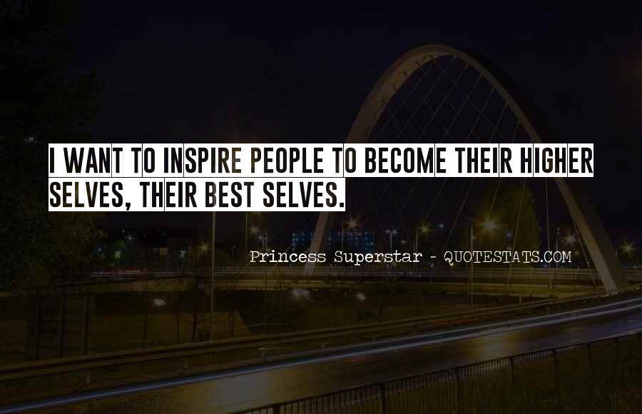 Princess Superstar Quotes #272859