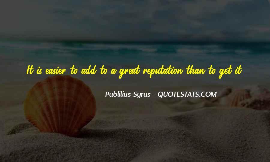 Publilius Syrus Quotes #1178105