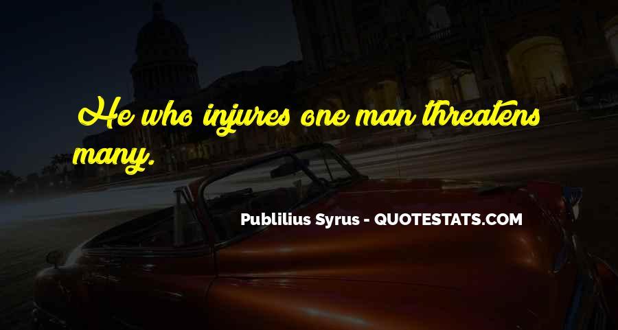 Publilius Syrus Quotes #1190421