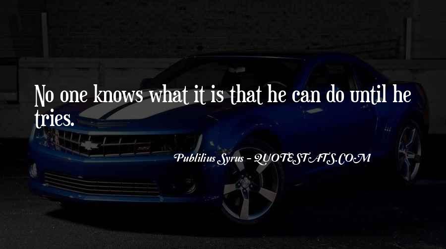 Publilius Syrus Quotes #97694