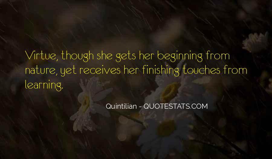 Quintilian Quotes #1025977