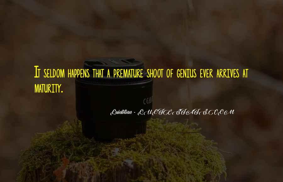 Quintilian Quotes #1315081