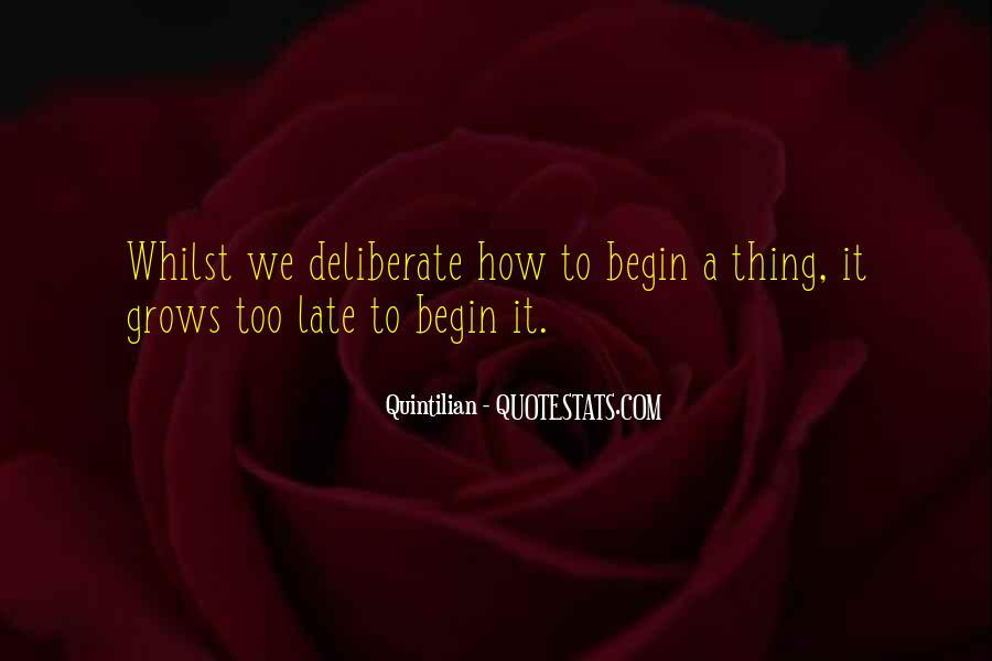 Quintilian Quotes #1361913