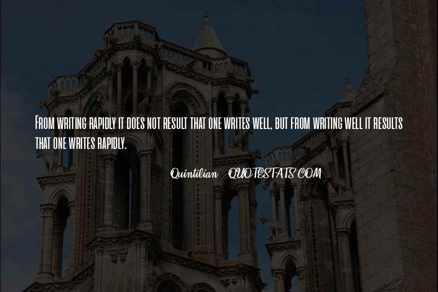 Quintilian Quotes #1400108