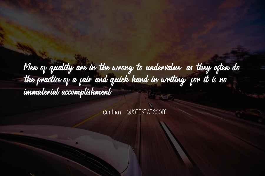 Quintilian Quotes #1409388