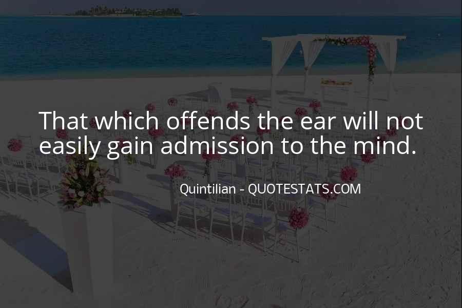Quintilian Quotes #1541756