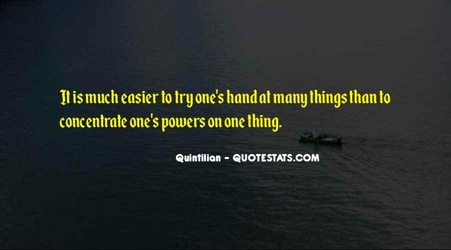 Quintilian Quotes #231671