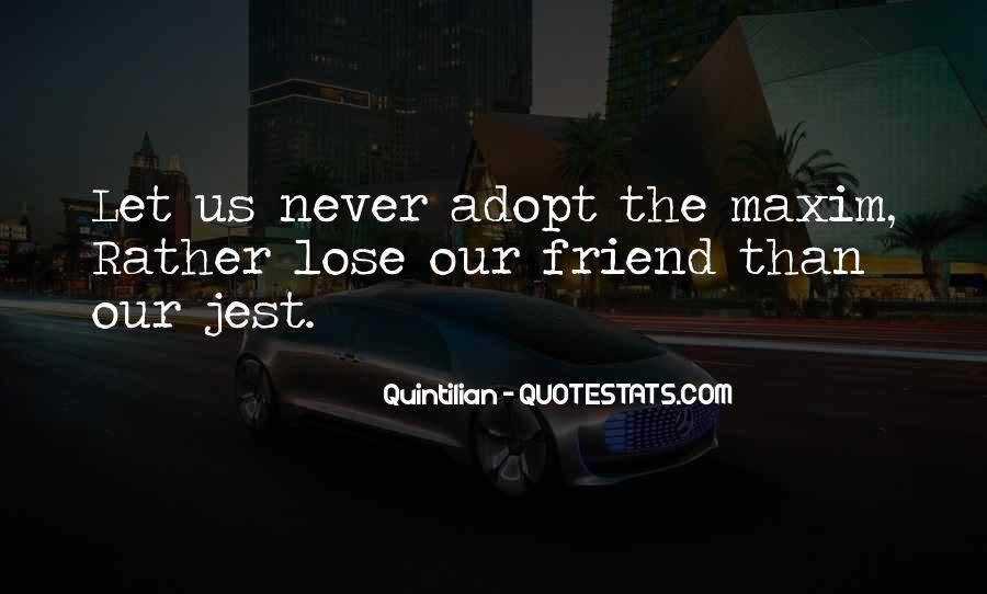 Quintilian Quotes #381222