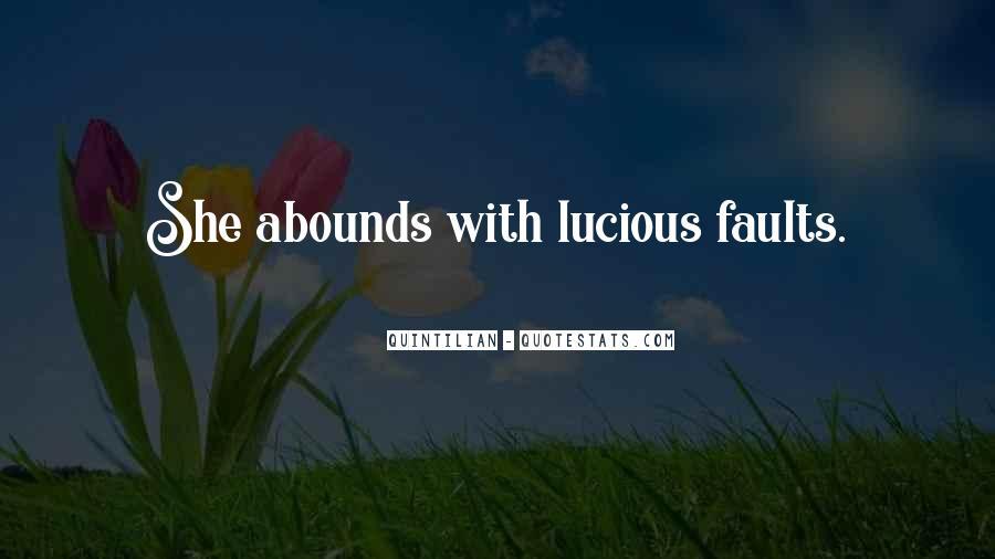 Quintilian Quotes #386270