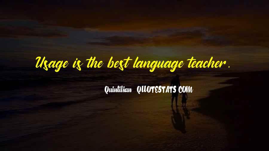 Quintilian Quotes #539343
