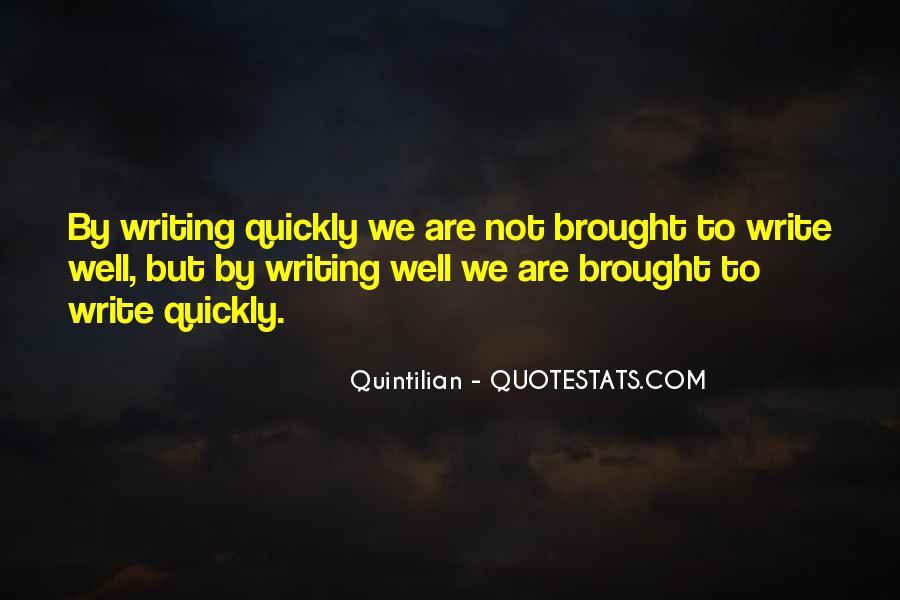 Quintilian Quotes #674921