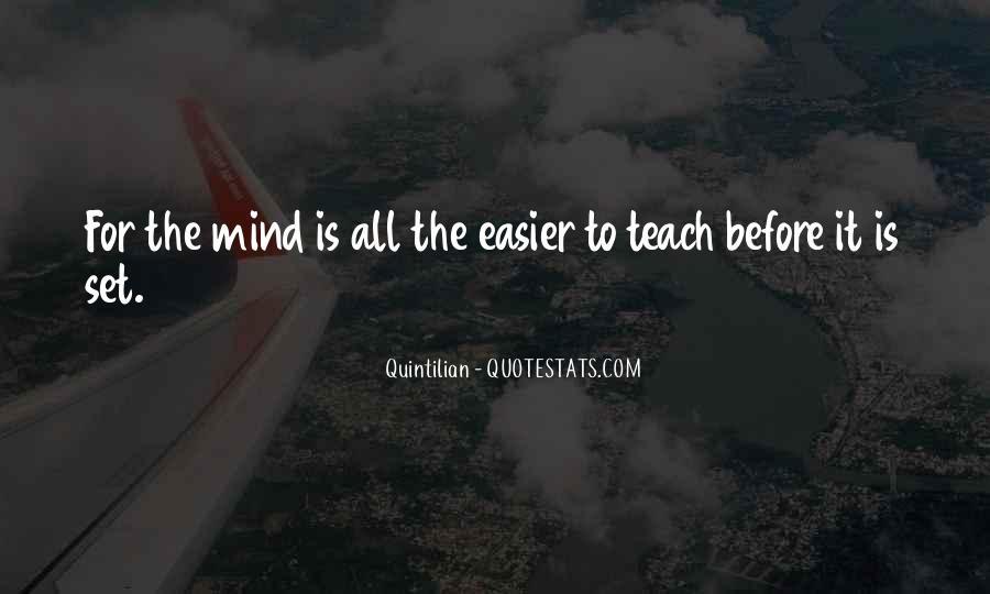 Quintilian Quotes #710312