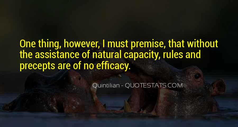 Quintilian Quotes #790087