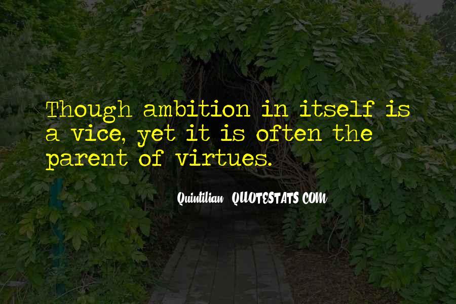 Quintilian Quotes #880927