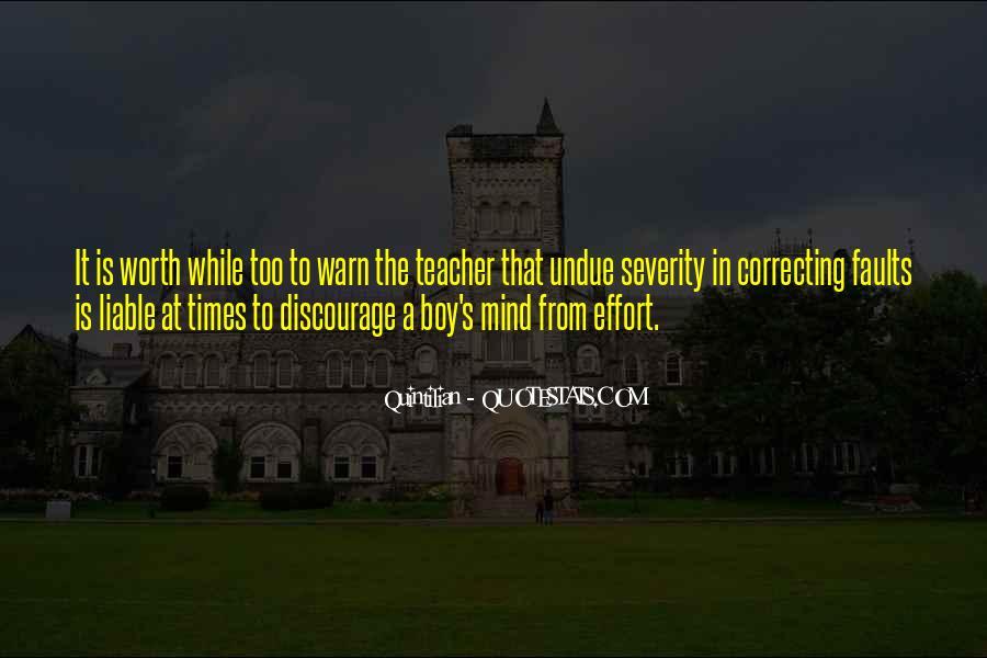 Quintilian Quotes #896063