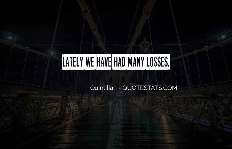 Quintilian Quotes #908976