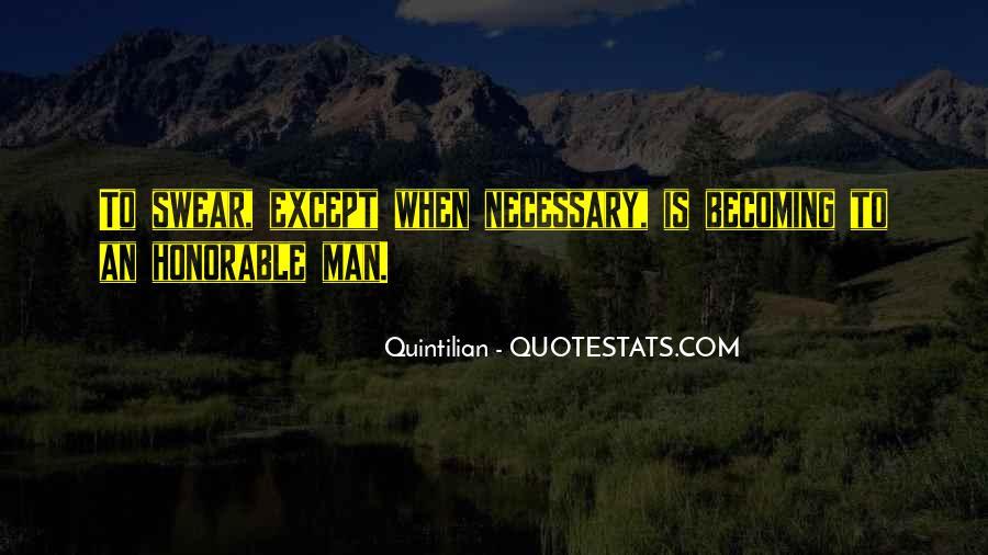 Quintilian Quotes #917915