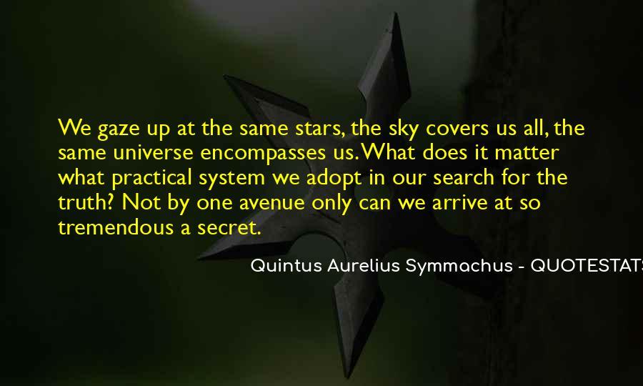 Quintus Aurelius Symmachus Quotes #823024