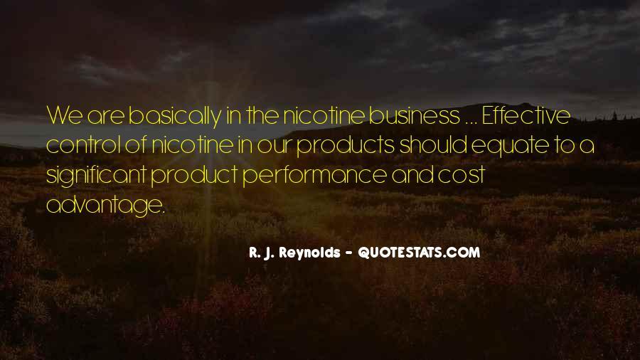 R. J. Reynolds Quotes #474694