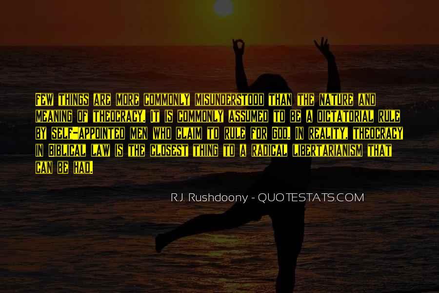 R.J. Rushdoony Quotes #1328592
