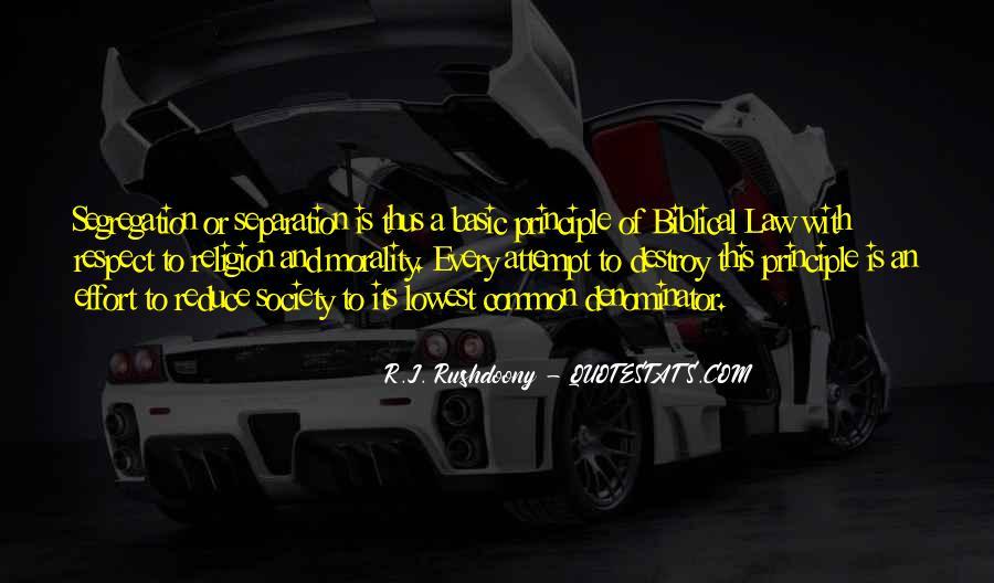 R.J. Rushdoony Quotes #1376162