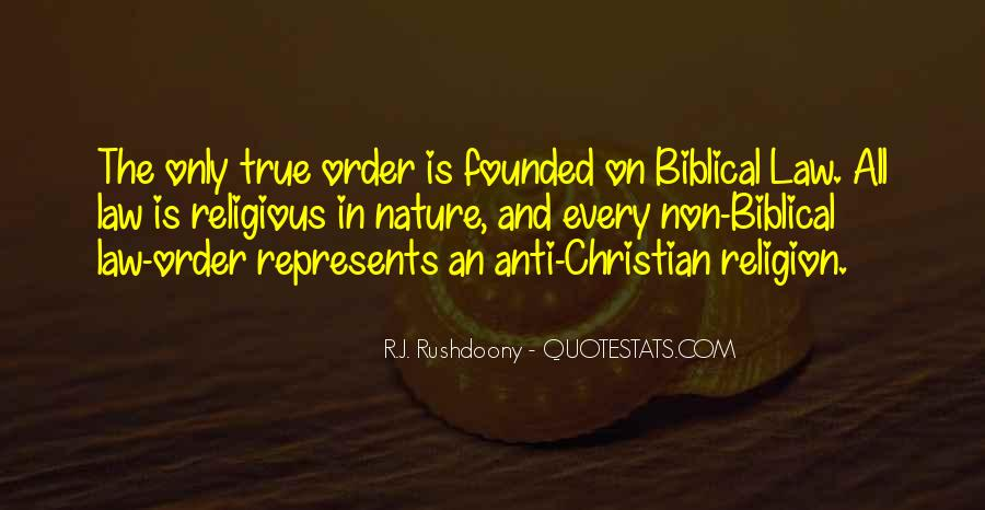 R.J. Rushdoony Quotes #280412