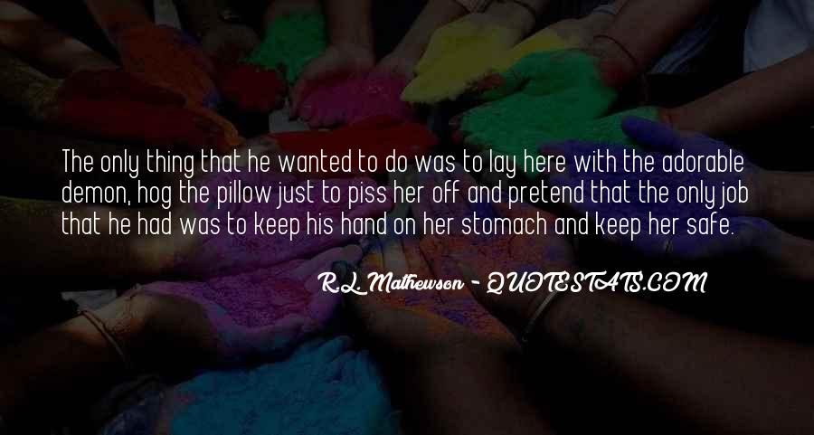 R.L. Mathewson Quotes #1261473