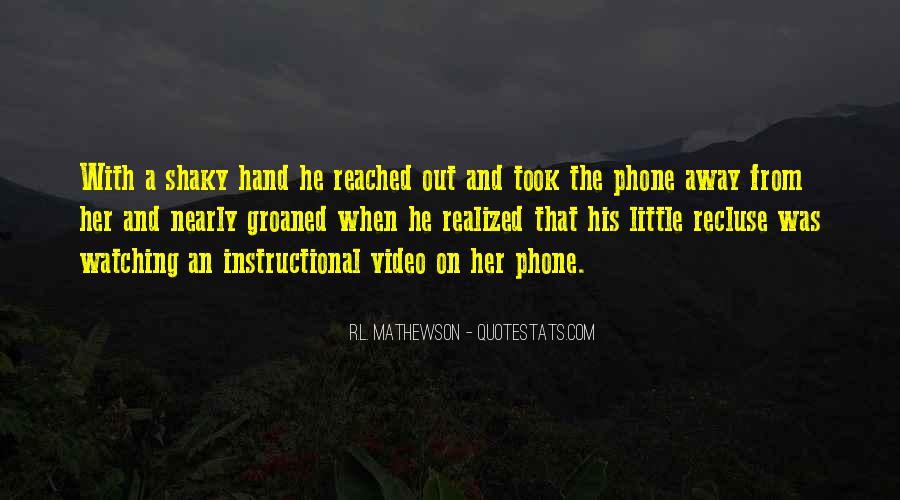 R.L. Mathewson Quotes #1360348