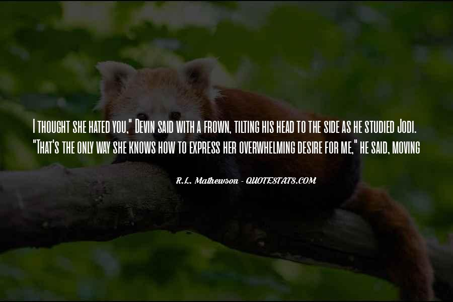 R.L. Mathewson Quotes #1451571
