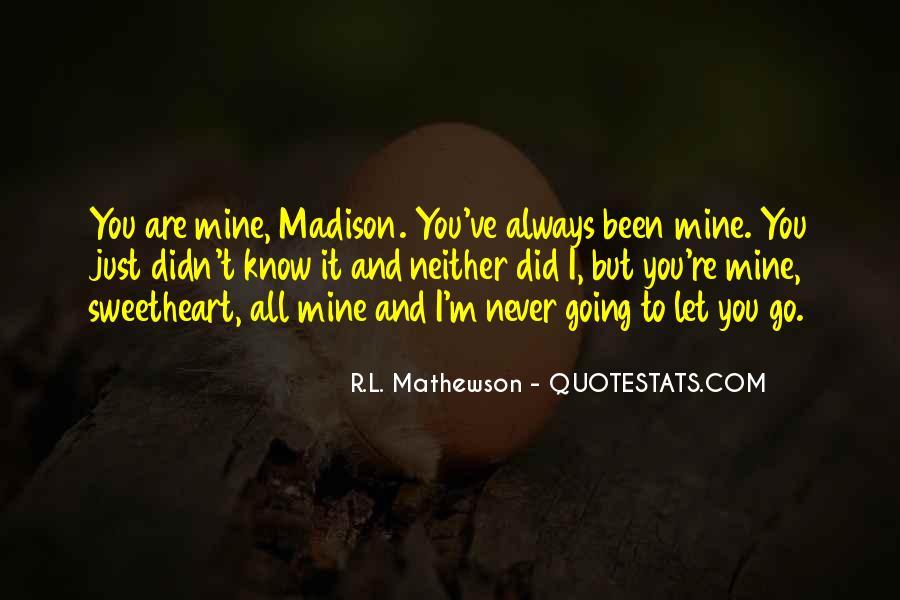 R.L. Mathewson Quotes #1667552