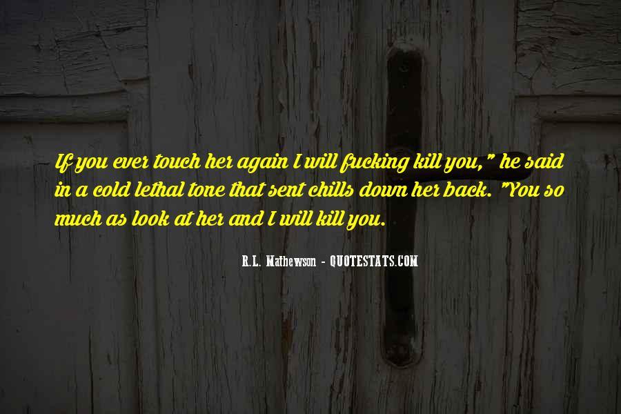 R.L. Mathewson Quotes #925756