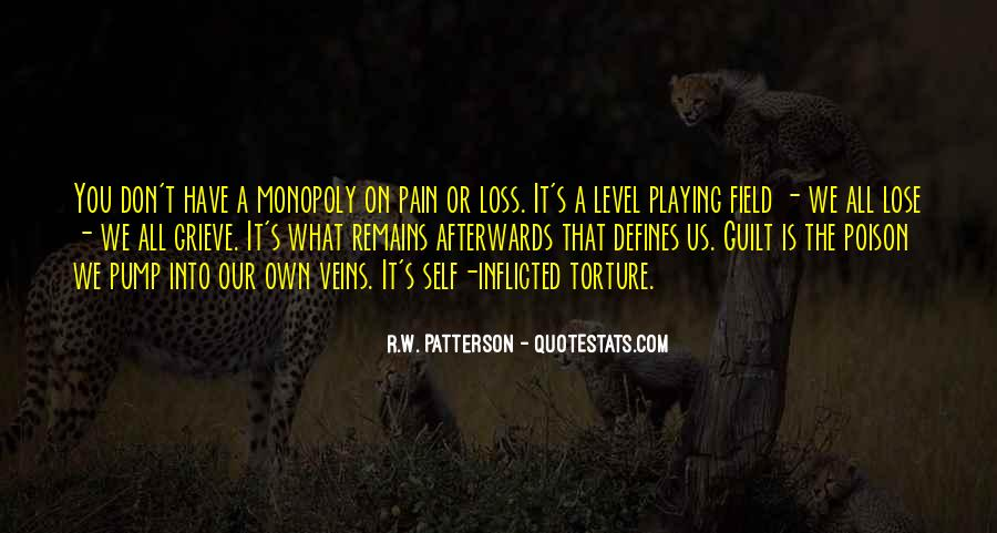 R.W. Patterson Quotes #136338