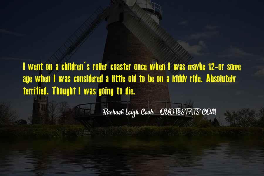 Rachael Leigh Cook Quotes #1114468