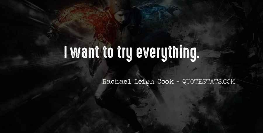 Rachael Leigh Cook Quotes #511067