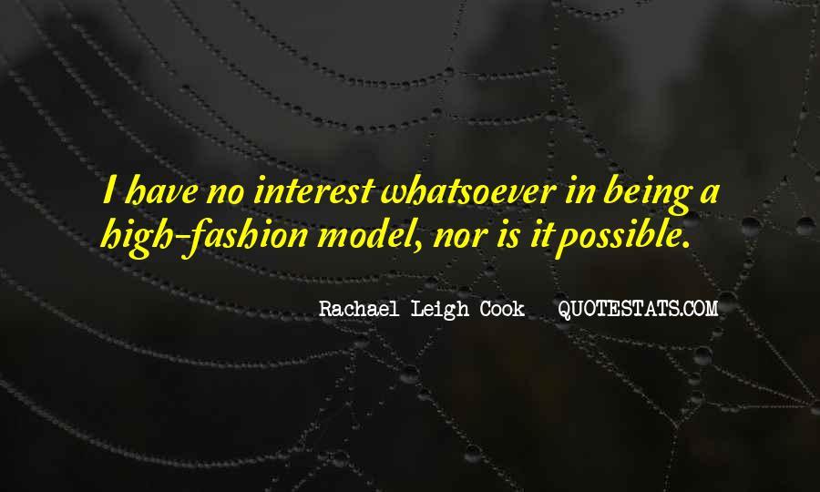 Rachael Leigh Cook Quotes #711534