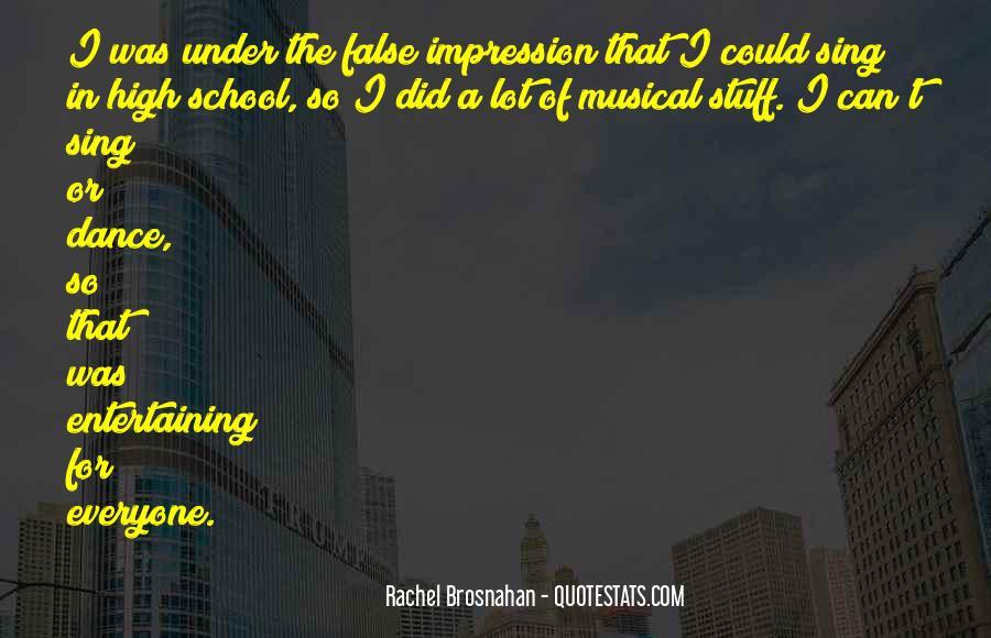 Rachel Brosnahan Quotes #746250