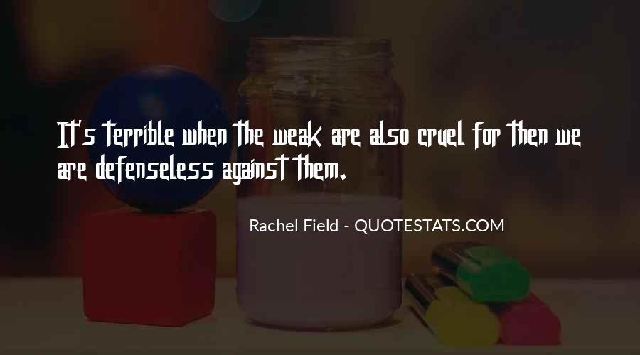 Rachel Field Quotes #1304605