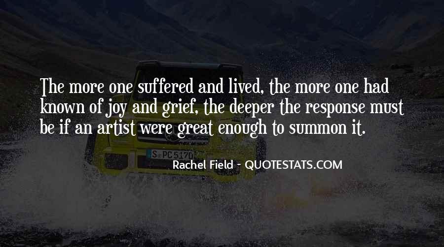 Rachel Field Quotes #1725045