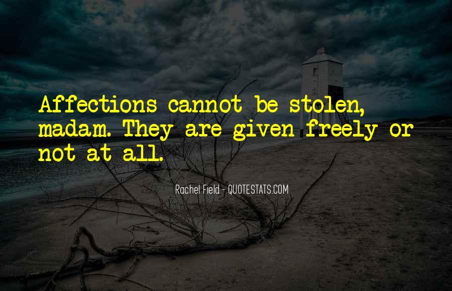 Rachel Field Quotes #734600