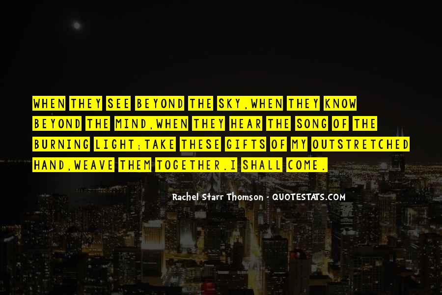 Rachel Starr Thomson Quotes #467861