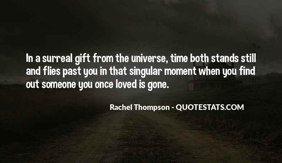 Rachel Thompson Quotes #1064864