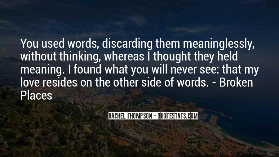 Rachel Thompson Quotes #410000