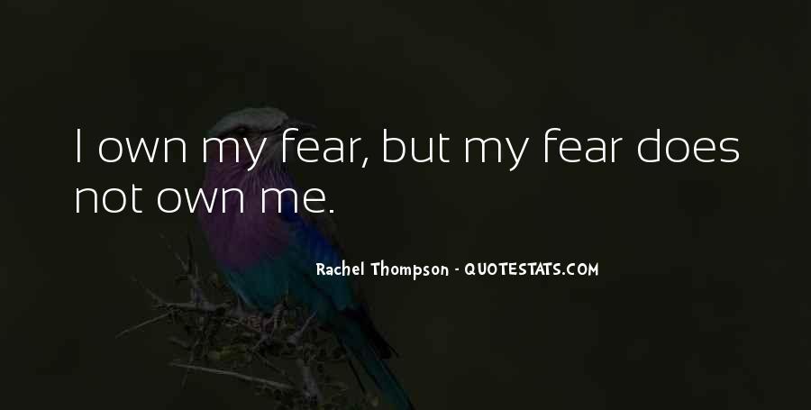 Rachel Thompson Quotes #757888