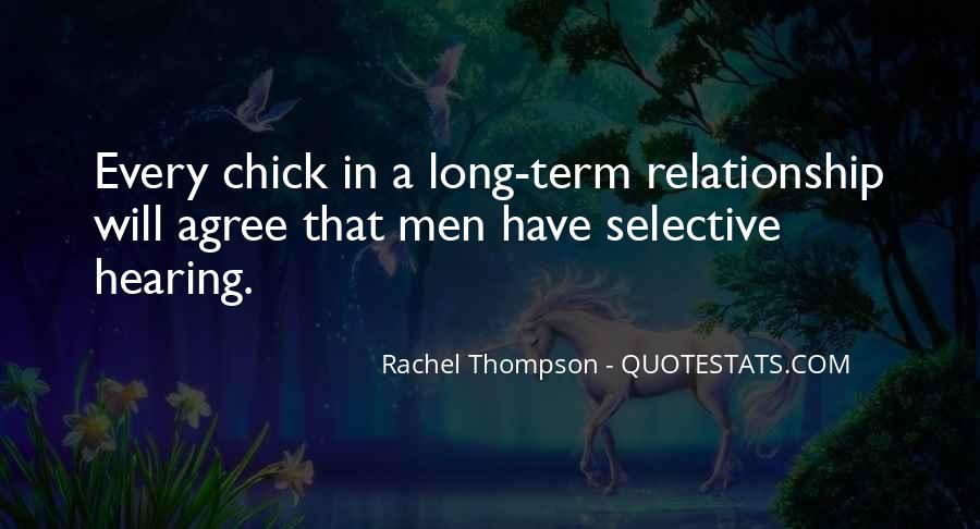 Rachel Thompson Quotes #807482