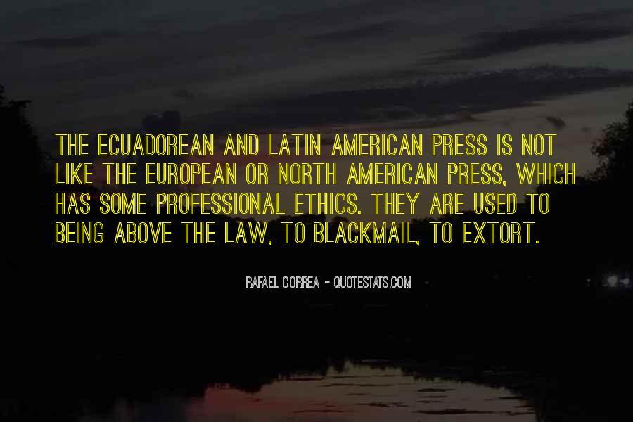Rafael Correa Quotes #1336112