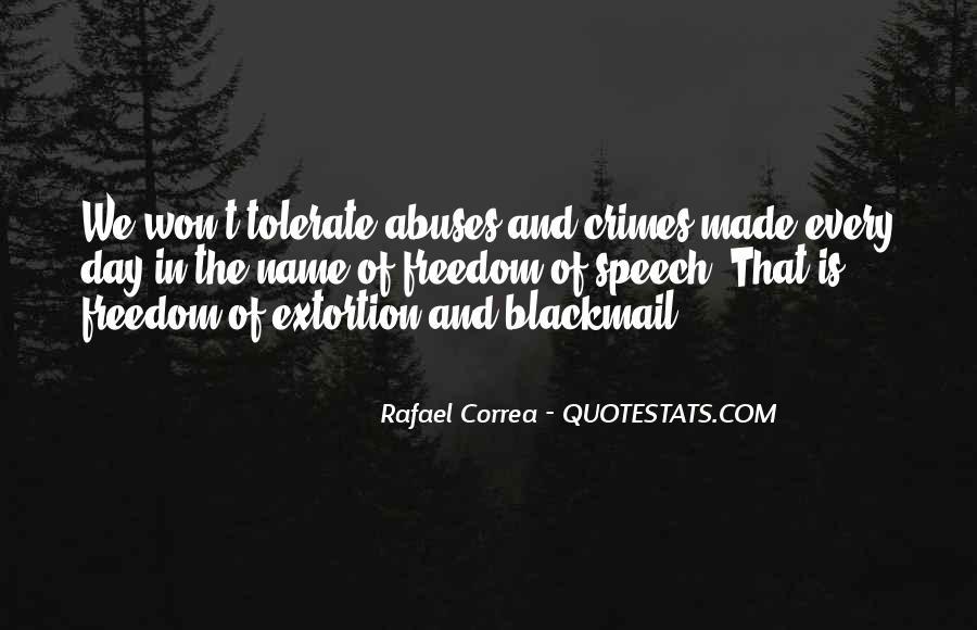 Rafael Correa Quotes #562239