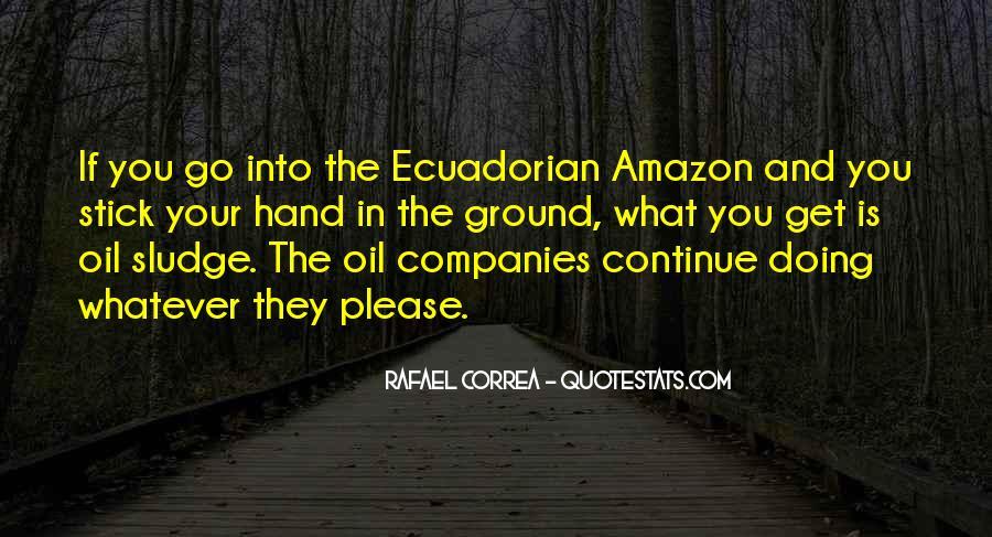 Rafael Correa Quotes #73882